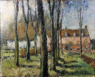 Désiré Haine (1900-1989). 0m68 x 0m80