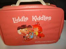 1965 Mattel Liddle Kiddles Dolls, Case, Booklets