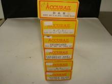 6 Accurail Train Kits D&H, Seaboard, NOS HO