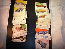 64 Automobile Cards T.C.G. 1950-1960