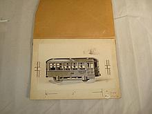 Kingsbury Line Art Small Trolley