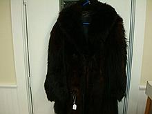 Bear Fur Coat Made in Saint Paul MN