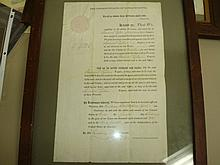 Mass Gov Samuel Tyler Document framed