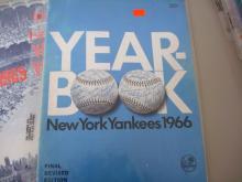 5 Yankee Yearbooks 1960-1966