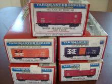 5 Branchline Yardmaster HO Kits NOS