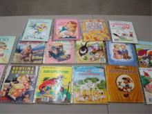 17 'A Little Golden Books' 1940-60's
