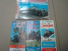 Steam Train & Riverboat Ephemera 1975-1978