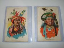 2 Tokio Native American Silks 1930