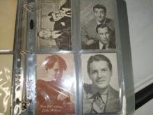 20 1950's Movies Star Exhibit Cards Major, Hoss