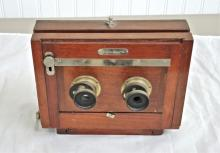 Rochester Optical Company Stereo Camera. In 1893,