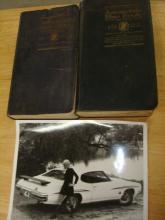 Automobile Blue Books 1919 & 1922