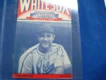 1940's Chicago White Sox Program & Score Cards