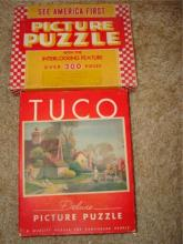 2 1930 Puzzles TUCO & See America First Complete