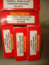 Walthers N 5 Russell Snow Plows NOS