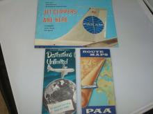 Pan Am Jet Clippers Travel Brochure & Route Maps