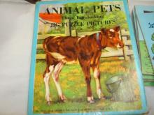 Good Group of 1950 Children Puzzels Pets/Animals