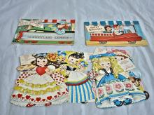 Four Storyland Doll Birthday cards