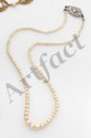 Collier en chute de 135 perles fines
