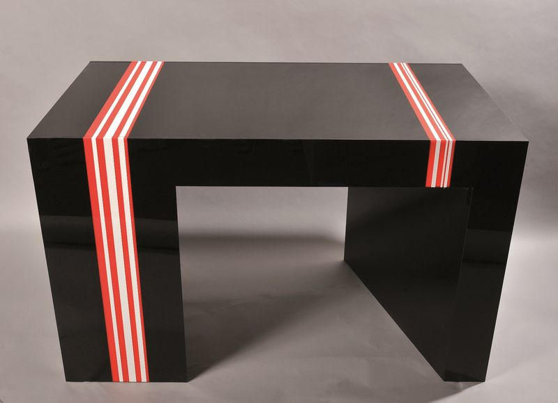 Jean Claude FARHI 1940 - 2012 - Table à jeux de backgammon