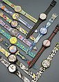 SWATCH Lot de 12 montres Collector 90