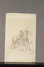 ECOLE VÉNITIENNE DU XVIIIème SIÈCLE, ENTOURAGE DE FABIO CANAL(VENISE, 1701-1767) Rebecca au puits