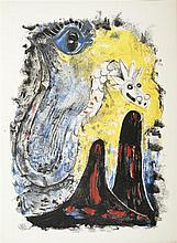 Péret, Benjamin / Tamayo, Rufino. Air Mexicain. Paris: 1952. Edición de 274 ejem. numerados, este es el No. 248. Con 4 lits. de Tamayo.