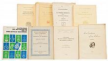 Iguíniz, Juan B./ Alessio Robles/ Castañón Rodríguez / Ihmoff Cabrera, J. / Fernández de Córdoba. Disquisiciones Bibliográficas. Pzs: 8