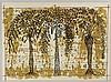 SERGIO HERNÁNDEZ, Sin título, Firmada. Serigrafía P / T, 55 x 74.5 cm