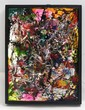 PABLO CASTILLO, Sin título, Firmada 2012.Caja de luz: acrílico sobre lámina de acrílico transparente en caja de madera. 65 x 50 x 9 cm