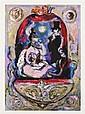 JOSÉ GARCÍA OCEJO, Pareja, Firmado y fechado 2011. Gouache sobre papel, 49.5 x 35.5 cm, Con certificado de autenticidad del artista.