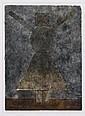 RUFINO TAMAYO, Mujercita, 1981, Firmada. Mixografía 243 / 250, 23.5 x 17 cm, Publicada.