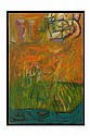 JAVIER MARIANO, Semidioses del agua, Firmado y fechado 00. Óleo sobre tela, 132 x 94 cm, Publicado en el sitio de la artista.