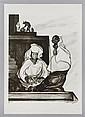 PABLO O'HIGGINS, Dos mujeres, Firmada. Litografía 74 / 111, 54 x 43 cm