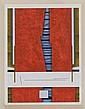 GUNTHER GERZSO, Tal como es, Firmada y fechada 87. Serigrafía P / A 13, 66.5 x 50 cm