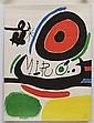 JOAN MIRÓ a) Tres Llibres, 1970. 76 x 56.7 cm b) Eugène Ionesco, 1964. 38 x 28 cm, Litografías. Piezas: 2.