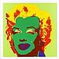 ANDY WARHOL, 11.25: Marilyn Monroe, Con sello en la parte posterior