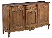A FRENCH LOUIS XV STYLE SIDEBOARD