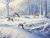J.W. (Jerry) THRASHER, (American, born 1940), Lamar County, TX, 2011, Oil on canvas, H 14 x W 8 inches.