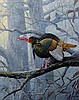 J.W. (Jerry) THRASHER, (American, Texas, born 1940), Foggy Morn, 2009, Oil on canvas, H 20 x W 16 inches.