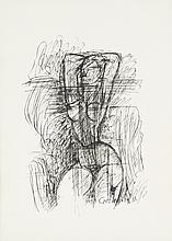 MARCEL GROMAIRE, (French, 1892-1971), Nude, Etching, H 16½ x W 12 inches.