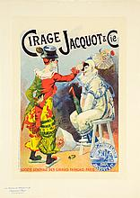 FRENCH SCHOOL , (20th century), Cirage Jacquot & Cie, Poster, H 15½ x W 11¼ inches.