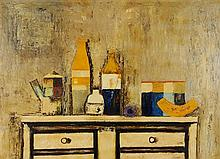 ANONYMOUS , (20th century), Still Life, Oil on masonite, H 30 x W 41 inches.