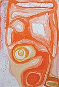 Nora Wompi Untitled, 2010 acrylic on linen 40 x 60