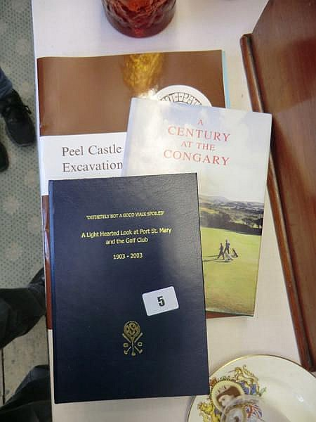 Collection of Manx books and booklets