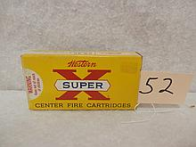 Winchester Super X 25-35 117 grain 20 rifle cartridges