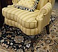 Pennsylvania House upholstered Queen Anne wing chair.