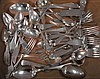 Miscellaneous sterling flatware, 33.3 t oz. plus 4.3 t oz. of coin silver.