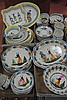 Four box lots of Quimper including two partial dinnerware sets.