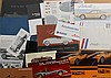 Limited production US car brochures - prewar, concept, etc, 37 items
