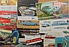 Late 1940's - mid 1970's Ford, Falcon, Fairlane  brochures, some high performance, 115 items